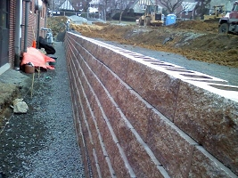 Garden Walls and Retaining Walls